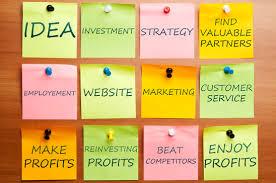 Tulislah rencana bisnis online anda.