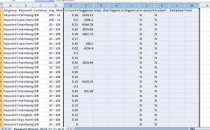 File dalam bentuk Excel.
